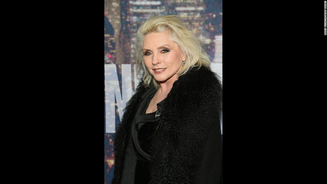 Rock on, Debbie Harry. The youthful lead singer of Blondie turned 70 on July 1.
