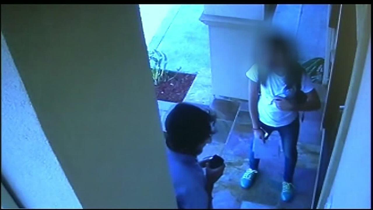 Teen girl followed, attacked inside home - CNN Video.