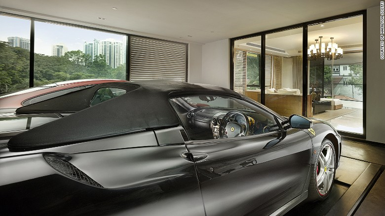 Singapore's ultimate luxury trend: The sky garage