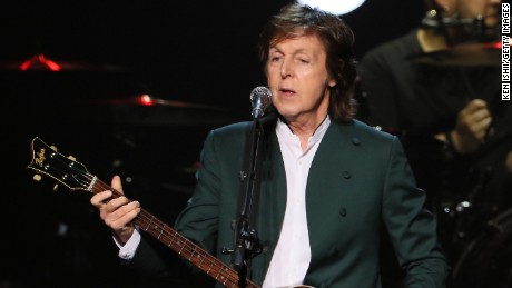 Paul McCartney in a file photo.