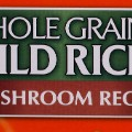 wild rice label