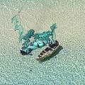 Skyhawk aerial photography Banque island