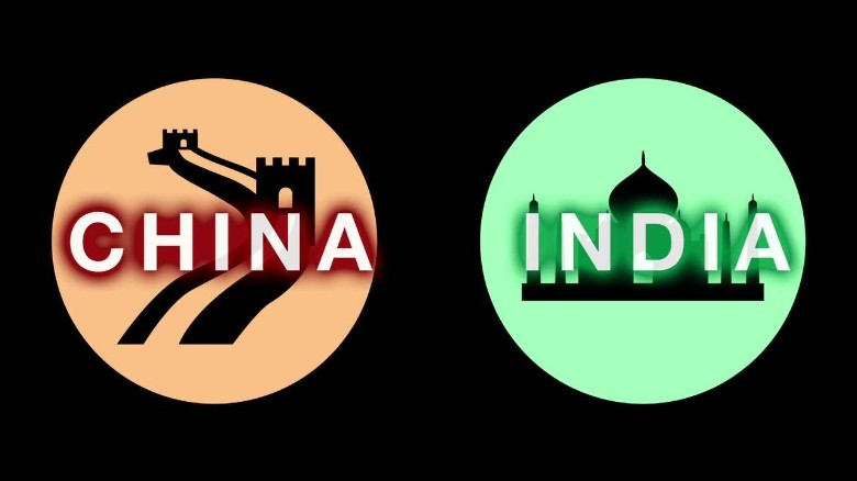 China vs. India: By the numbers