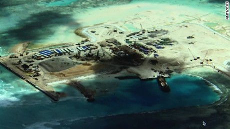 China building 'Great Wall of Sand' in South China Sea