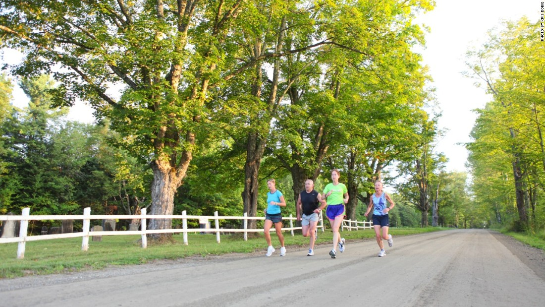 Craftsbury Running Camps span from late July to late September in Craftsbury, Vermont.