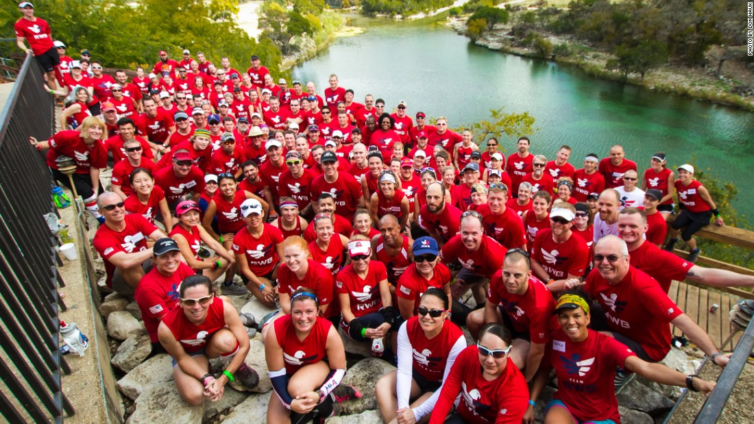 The Team RWB Trail Running Camp occurs in mid-October in Rocksprings, Texas.