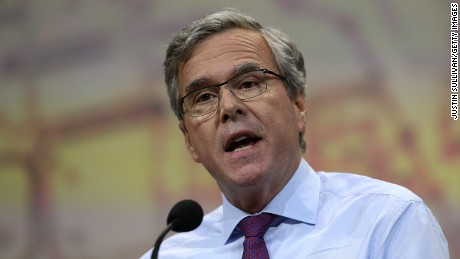 Former Florida Gov. Jeb Bush speaks during the NRA-ILA Leadership Forum at the 2015 NRA Annual Meeting & Exhibits on April 10, 2015 in Nashville, Tennessee.