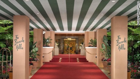 Legendary actors Marilyn Monroe, John Wayne, Richard Burton and Elizabeth Taylor have all walked through these doors.