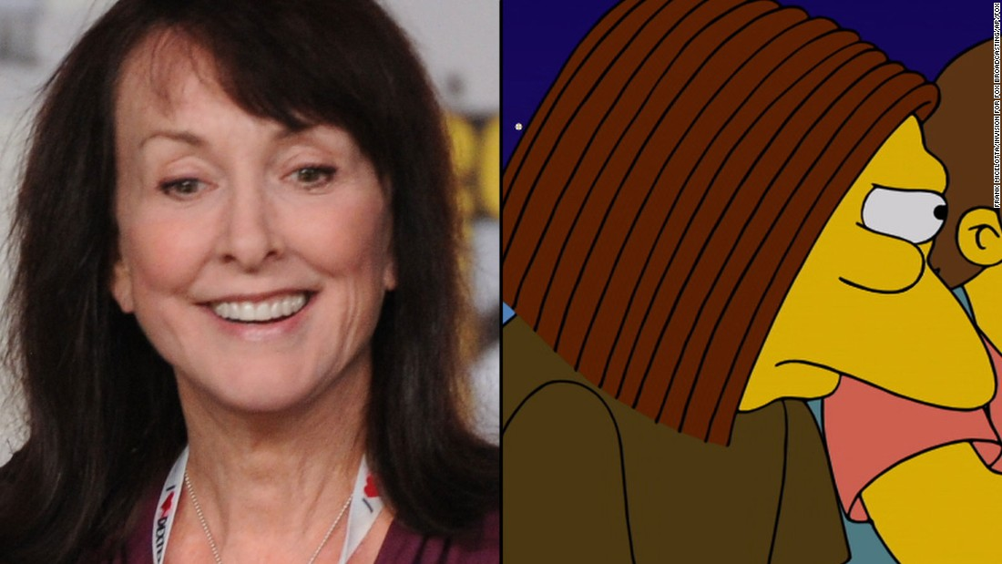 Tress MacNeille's characters include Crazy Cat Lady and Dolph Starbeam.