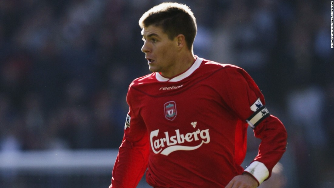In October 2003, Liverpool manager Houllier made Gerrard club captain, taking over the role from defender Sami Hyypia.