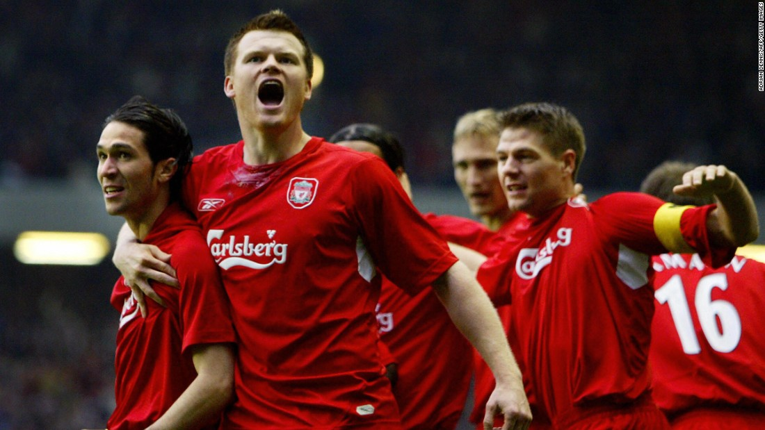 "Following Gerrard's heroics against Olympiakos, Liverpool made it all the way to the semifinals where they would play Chelsea. After a tense match at Stamford Bridge finished 0-0, Luis Garcia's infamous ""ghost goal"" sent the Reds through to their first European Cup final for 20 years."