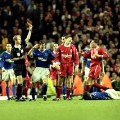 Gerrard red card everton 1999