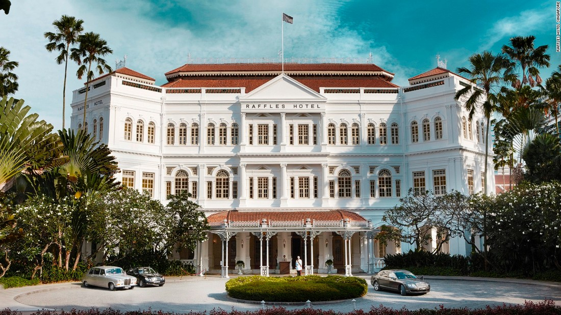 Named after Stamford Raffles, the founder of Singapore, this opulent, colonial-style hotel had surprisingly humble beginnings: It was originally built as a small 10-room bungalow. More than 125 years on, it's now arguably the most famous hotel in Asia.