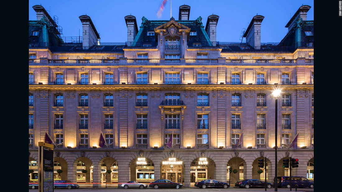 The Ritz, built in 1906, was London's first steel structure and the first hotel in the city to have bathrooms in every guest room. Throughout its 109-year history, its patrons have included nobles like King Edward VIII and movie stars like Charlie Chaplin. Winston Churchill, Charles de Gaulle and Present Eisenhower also famously used the hotel as a regular meeting point during World War II.