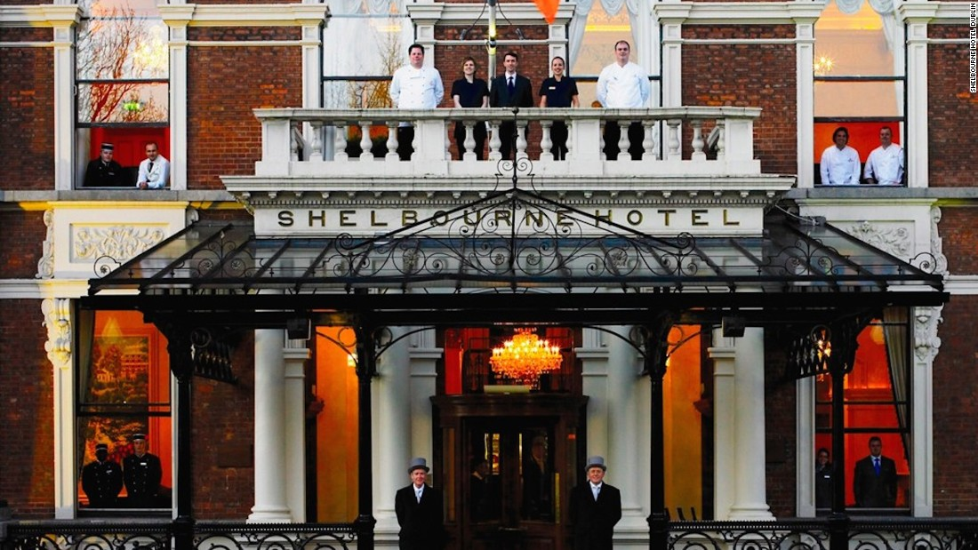 Built in 1824 and located on St. Stephen's Green in the heart of Dublin, the lavish Shelbourne Hotel is Ireland's oldest and most historic hotel.