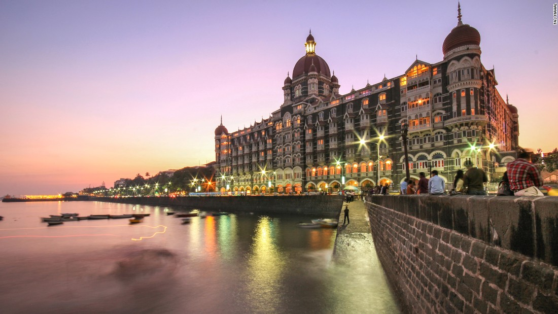 Built in 1903, the Taj Mahal Palace is Mumbai's first harbor landmark, the site of the first licensed bar in the city (the Harbour Bar, which still stands) and the first hotel in India to have steam elevators.