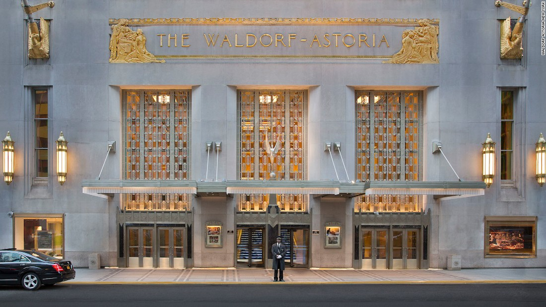 "Located on Park Avenue, the Waldorf Astoria has hosted every U.S. president from Hoover to Obama and even features a ""secret"" train platform beneath the hotel, used by high-security VIP guests such as Franklin Delano Roosevelt. (It's no longer operational.)"