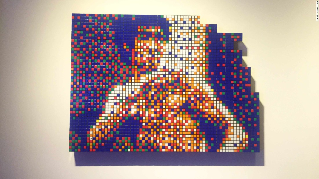 One Piece D Exhibition Hong Kong : Quot space invader re imagines hong kong as a video game