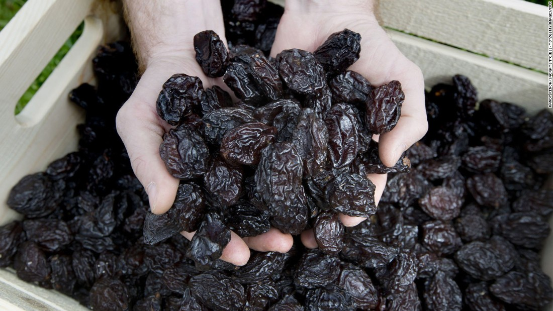 Prunes have fiber as well as fructans and sorbitol, fermentable sugars that can have a laxative effect.
