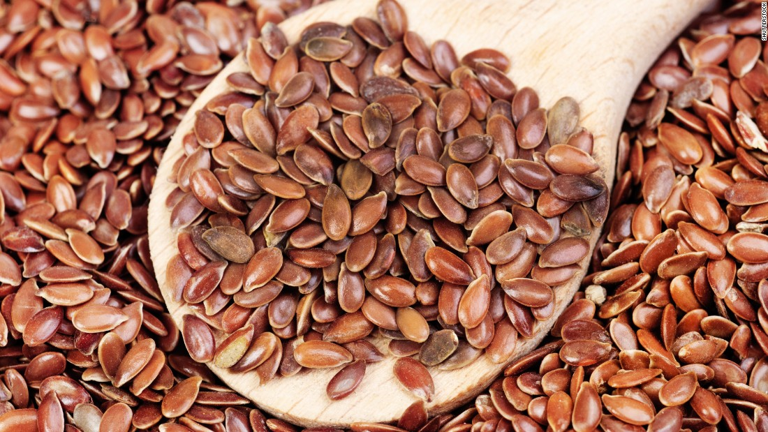 High fiber flaxseeds are easy to throw into everyday eats for a fiber punch.