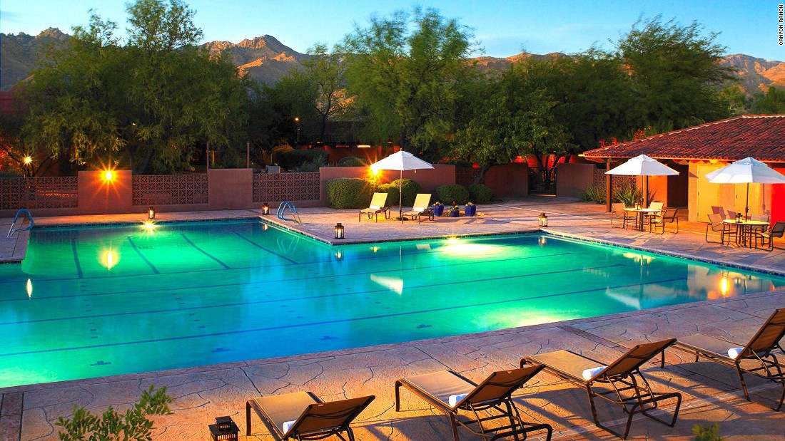 There's no spa in the United States quite like this 80,000-square-foot behemoth, located within a 150-acre ranch in the scenic foothills of the Santa Catalina Mountains.