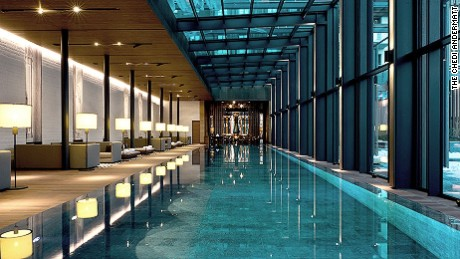 The Chedi Andermatt: The views outside are even better.