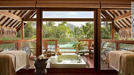 10 of the world's best hotel spas