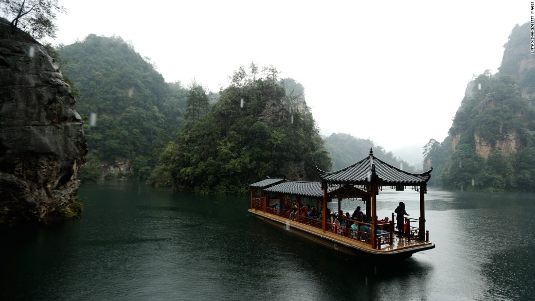 The 26,000-hectare Wulingyuan Scenic Area in Hunan has been declared a UNESCO World Heritage site. Zhangjiajie National Forest Park, one of the several national parks within Wulingyuan, is China's first forest reserve.