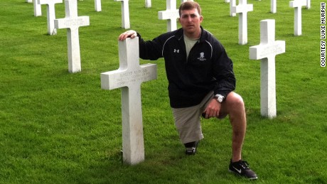 "Retired Army Staff Sgt. Luke Murphy admits he sometimes thinks non-veterans and non-family members ""don't give a damn"" about military sacrifice on Memorial Day. ""They're out there enjoying the three-day weekend, eating cheeseburgers and drinking craft beer."""