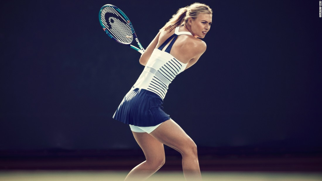 "Like Nadal, Maria Sharapova will be defending her title at Roland Garros this year, in what has been dubbed ""The Nike Maria Paris Dress"" (pictured.) It features Dri-FIT fabric that helps wick the sweat away from the body and French Breton-style stripes. This is Paris, after all."
