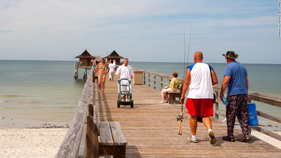 """<strong>9. Delnor-Wiggins Pass State Park, Naples, Florida</strong>. Head to <a href=""""https://www.floridastateparks.org/park/Delnor-Wiggins"""" target=""""_blank"""">this 166-acre beach park</a> on the Gulf of Mexico early to get there before the crowds. It's worth the effort to find a post on the white sand beach, where the seashells are plentiful. There are paddleboards, kayaks and canoes to rent for the active visitor, and umbrellas and beach chairs to rent for the relaxed guest. There's a designated fishing area and a convenient boat launch area."""