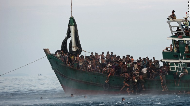 Why are the Rohingya fleeing Myanmar?