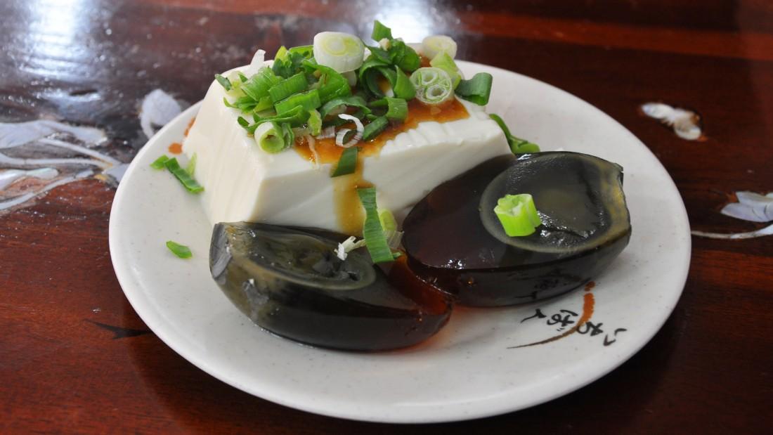 Pidan tofu: love at second bite