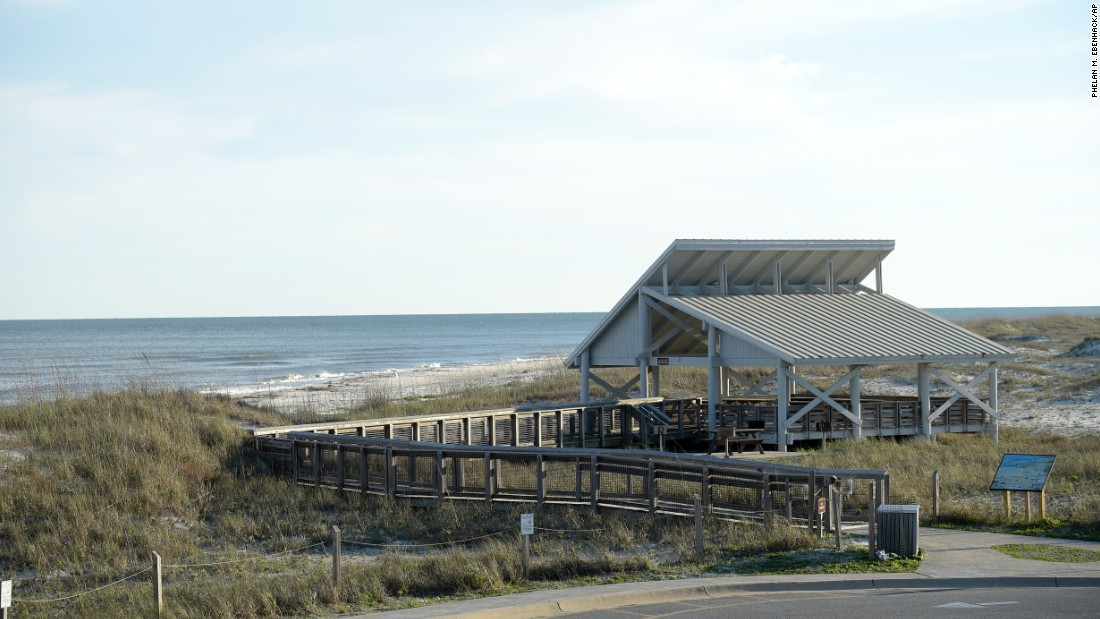 "<strong>3. St. George Island State Park, Florida.</strong> Located on 1,963 acres on the eastern side of a barrier island, <a href=""http://floridastateparks.reserveamerica.com/camping/st-george-island-sp/r/campgroundDetails.do?contractCode=FL&parkId=281068"" target=""_blank"">St. George Island State Park</a> is a lovely spot to explore the dunes, swim and enjoy the Florida Panhandle beach's white sand. (Shuffle your feet to warn off stingrays in the shallow waters.) Camping is also permitted."