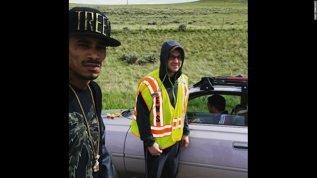 "Rapper Layzie Bone of Bone Thugs-n-Harmony posted a picture <a href=""https://instagram.com/the_real_layzie_bone/"" target=""_blank"">on his Instagram account</a> after he and others rushed to the aid of a driver who was having a diabetic crisis in Wyoming. The rapper fed the man fruit and wrote in the photo's caption ""Dear Lord, thank you for your mercy, grace and forgiveness for 2nd chances."""