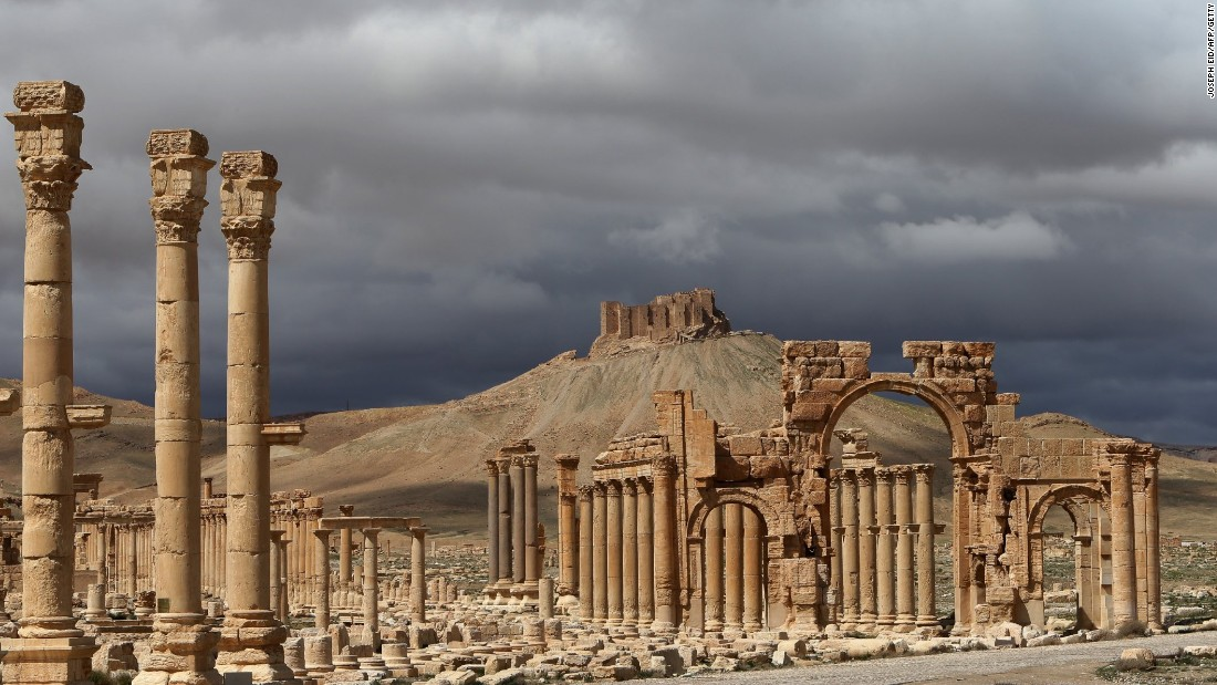 "ISIS seized control of <a href=""http://www.cnn.com/2015/05/15/middleeast/gallery/palmyra-ruins-syria/index.html"">Palmyra</a>, a UNESCO World Heritage Site dating back 2,000 years, in May, prompting fears for the site's survival. The Syrian government confirmed ISIS fighters have <a href=""http://www.cnn.com/2015/06/24/middleeast/syria-isis-palmyra-shrines/index.html"">destroyed two Muslim shrines</a> in the ancient oasis city. It's the latest act of cultural vandalism by the Sunni extremists."
