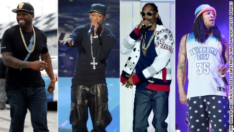 rappers who endorsed hillary clinton