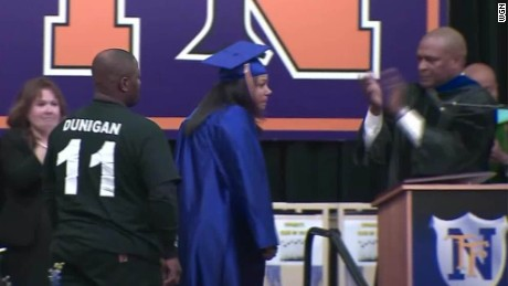 pkg mom graduates for her dead son _00003912