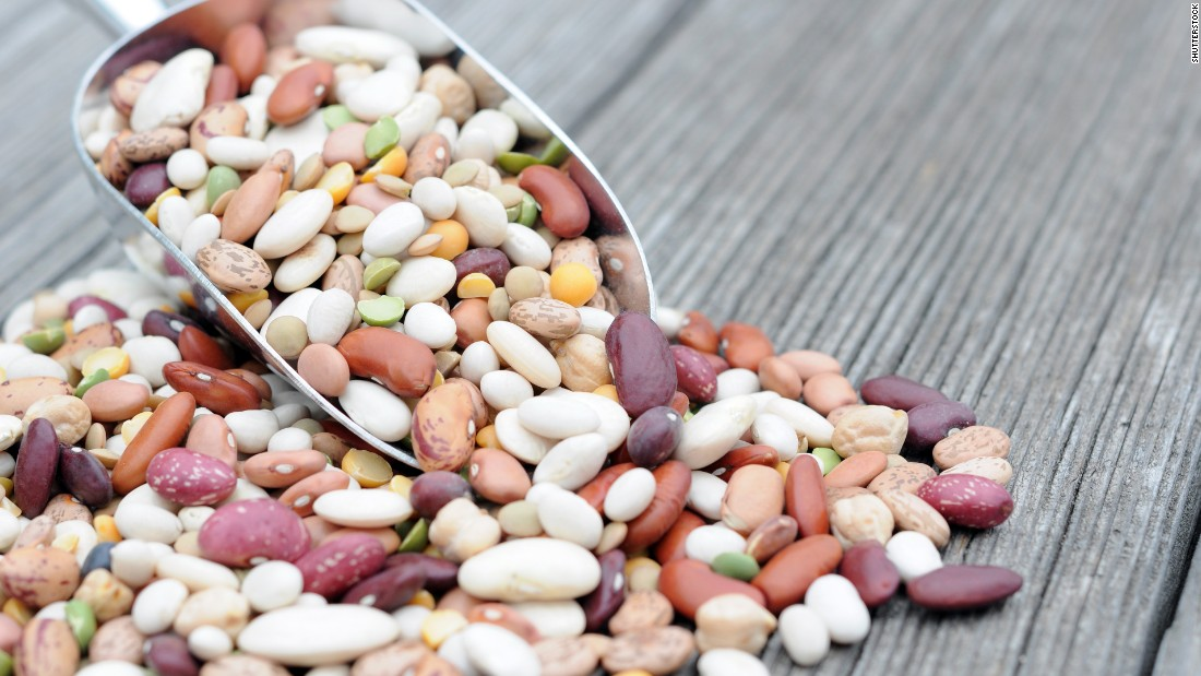 "Eat three servings of beans a week. Beans are a good source of fiber which is important for digestion and also help you feel full, meaning you won't want to eat as much. <a href=""http://www.ncbi.nlm.nih.gov/pubmed/23553168"" target=""_blank"">A study in Japan</a> found high soy bean consumption was associated with a lower incident of dementia and long life."