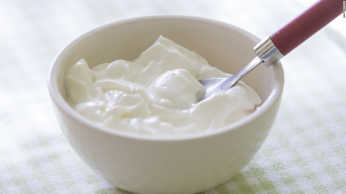 "Yogurt is a natural source of probiotics, also known as ""good bacteria"" that live in your gut. Studies have linked good gut health to boosting immunity, better sleep and good digestion."