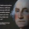 Memorial Day- Washington quote