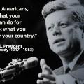 Memorial Day- JFK Quote