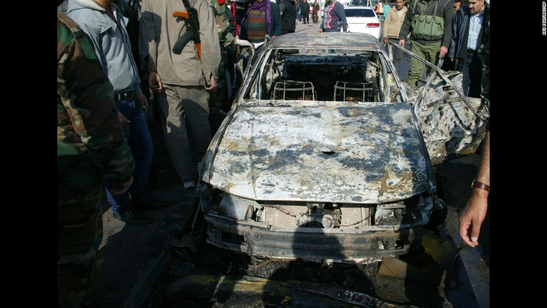 "Suicide bombs hit two security service bases in Damascus on December 23, 2011, <a href=""http://www.cnn.com/2011/12/23/world/meast/syria-bombings/index.html"" target=""_blank"">killing at least 44 people</a> and wounding 166."