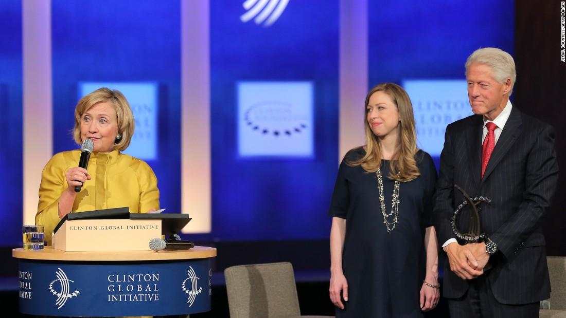 Clinton Foundation rep...