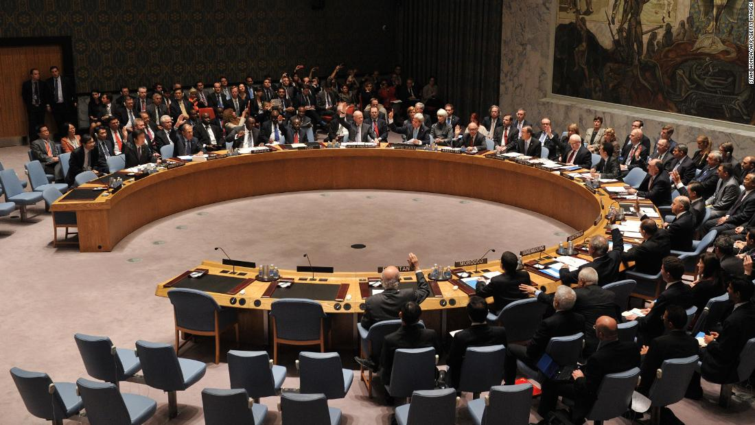 The U.N. Security Council passes a resolution September 27, 2013, requiring Syria to eliminate its arsenal of chemical weapons. Al-Assad said he would abide by the resolution.