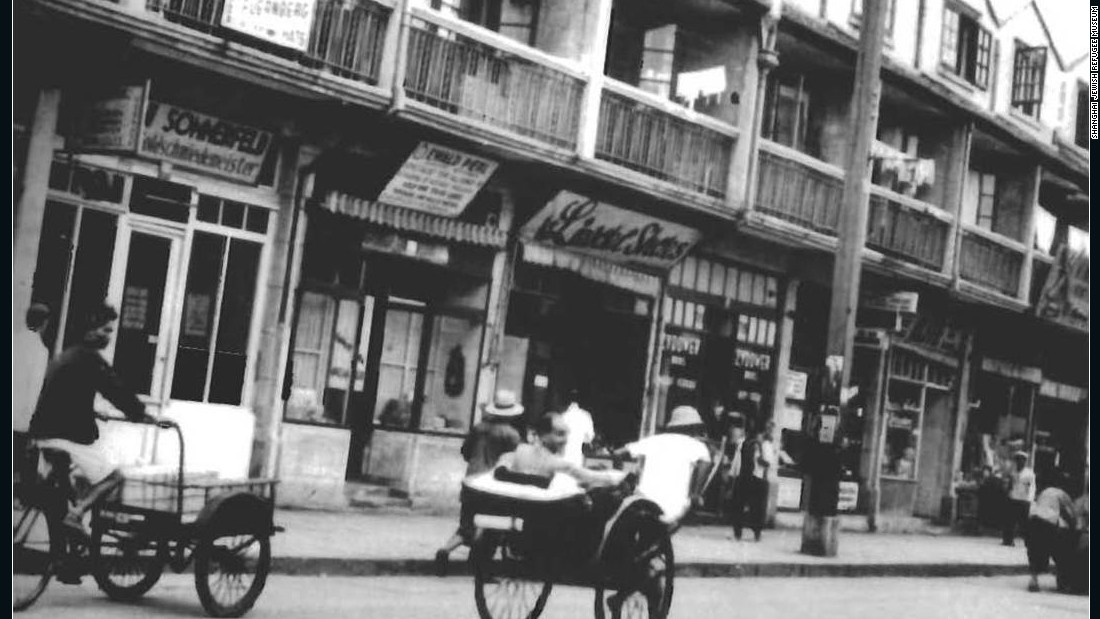 "Known as ""Little Vienna"" for its cafes, shops and nightclubs, this street was the commercial center of the Jewish ghetto, which was often described as the ""Hongkou"" or ""Hongkew"" ghetto."