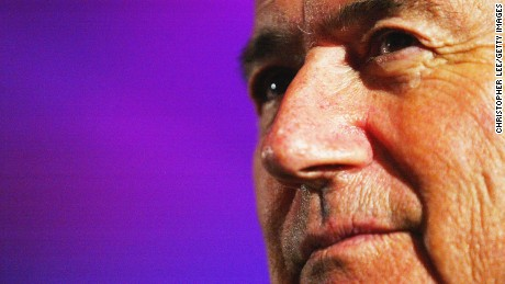Sepp Blatter - key moments in pictures