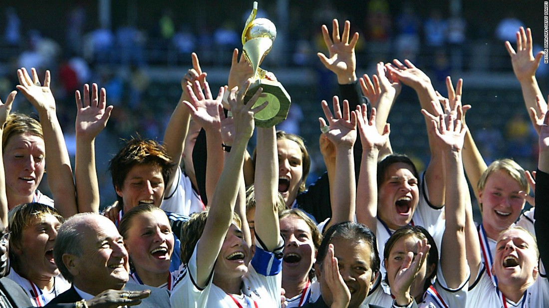 "In 2004, Blatter angered female footballers with his suggestion for how the women's game could be made more appealing. ""They could, for example, have tighter shorts,"" said the Swiss. ""Let the women play in more feminine clothes like they do in volleyball."""