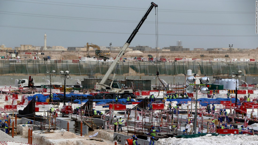 "FIFA has also been heavily criticized for the employment conditions of workers building stadiums and infrastructure in Qatar for the 2022 World Cup. In early May 2015, Amnesty International released a report stating that FIFA  was failing to demonstrate any sort of commitment to ensuring Qatar 2022 is ""not built on a foundation of exploitation and abuse.""<br />"