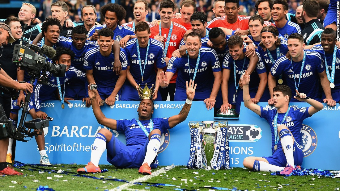 Chelsea dominated in 2014-15, winning the championship by eight points from nearest rival Manchester City.